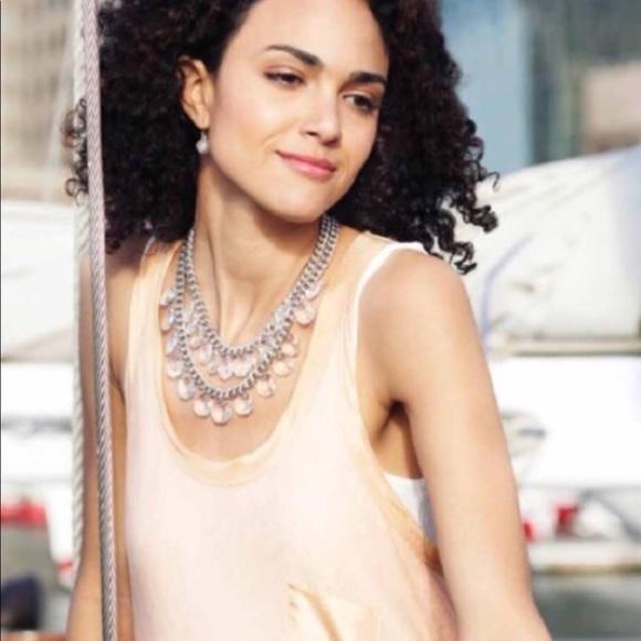 Stella & Dot Jewelry - Stella and Dot Byblos Crystal Chandelier Necklace